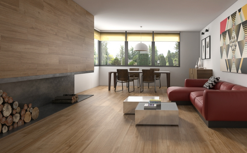 Give Your Home a New Look for 2019 with Wood Effect Floor Tiles from House of Tiles Ireland