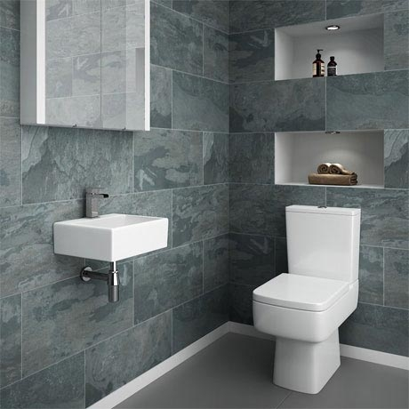 Cloak Room Space-Saving Bathrooms at House of Tiles Dublin