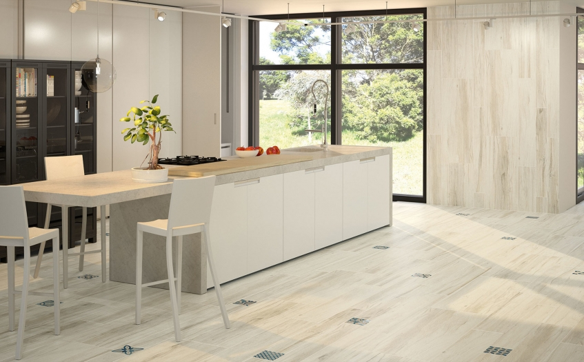 Want an Inexpensive Alternative to Real Wood Flooring? Then Try Wood Effect Tiles!