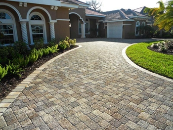 Outdoor tiles for Tile driveway