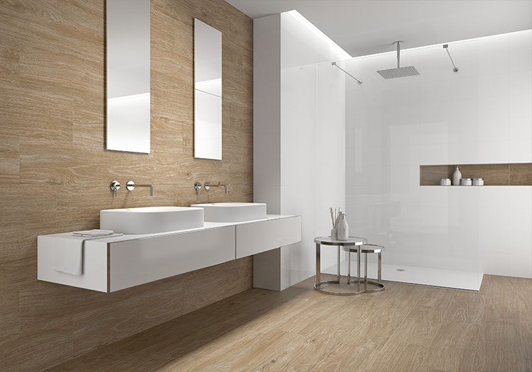 Wood Effect Porcelain Tiles from House of Tiles