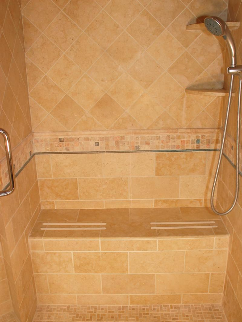Shower benches for limited mobility issues