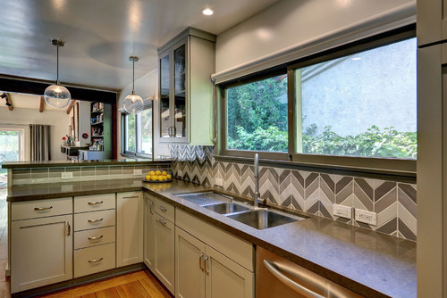 New trend: chevron tiles