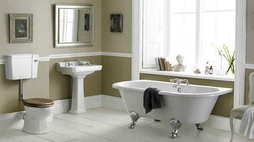 Classic Victorian & Edwardian Style Bathrooms from House of Tiles