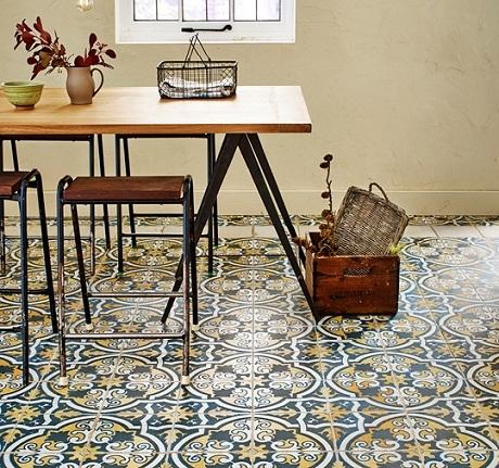 Francisco Segarra Star Tiles from House of Tiles