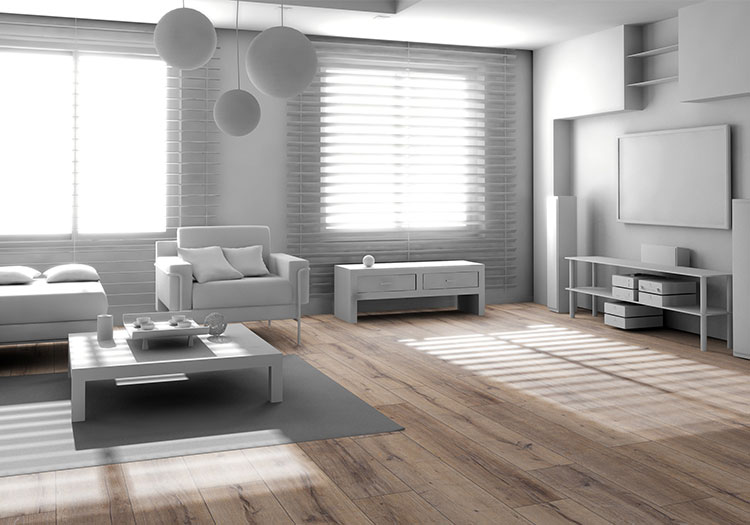Wood flooring from House of Tiles - Perfect for a Cosy home