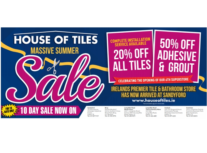 Grand Opening Summer Sale