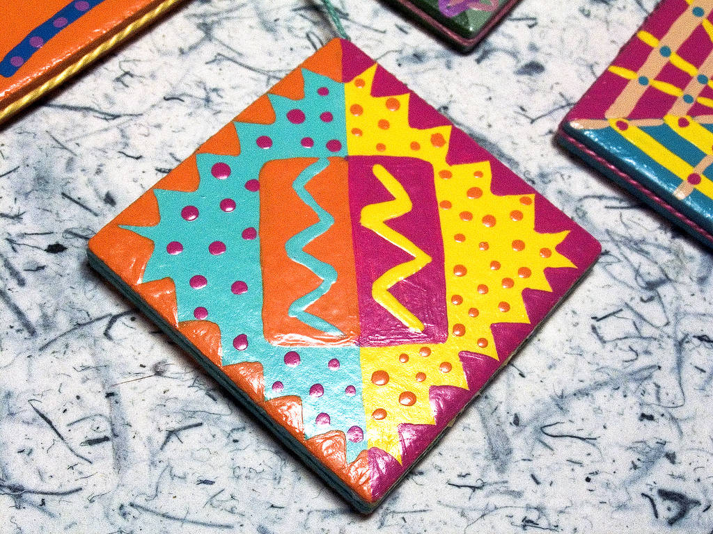 Feeling creative? Paint your tiles!