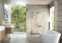 Porcelain tiles for new homes