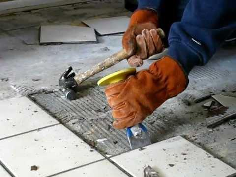 How To Remove Tiles Faster