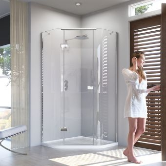 Quality Quadrant Shower Doors for Stylish Bathrooms Across Ireland