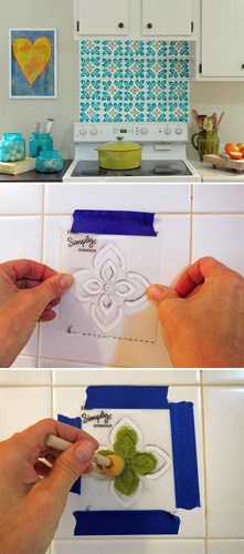 stencil-backsplash