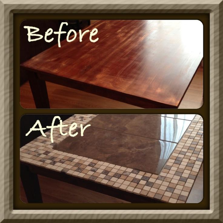 Broken Tile Coffee Table: Tile-table