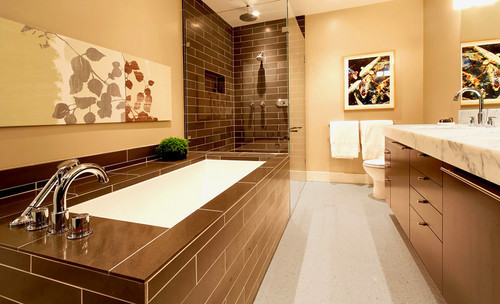 How to change the look of your bath?