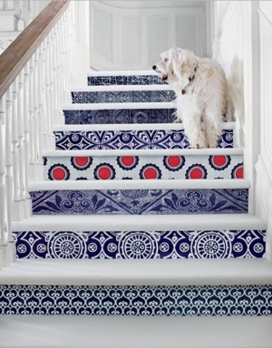 Bold and unique tile projects